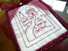 it's a redwork christmas  http://estrella-azul.over-blog.com/