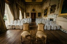 Civil ceremony room at Carton House by www. Civil Wedding, Civil Ceremony, Wedding Memorial, Wedding Photography, Room, House, Beautiful, Home Decor, Courthouse Wedding