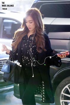 Airport Fashion Tiffany Hwang SNSD