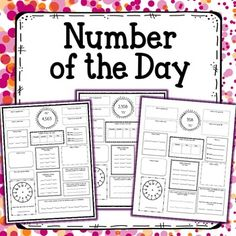 This is an awesome daily review activity that incorporates many of the 3rd and 4th grade common core standards. This can be used as morning work, homework, centers, or a daily skills practice.