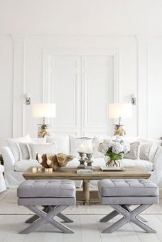 the best neutral paint colors via a blissful nest living room white living room decor