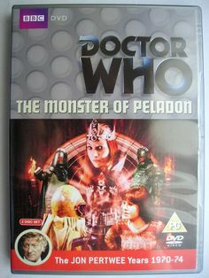 """""""The Monster of Peladon"""" is an adventure of the eleventh season of """"Doctor Who"""" classic series which aired in 1974 featuring the Third Doctor and Sarah Jane Smith. It's the sequel to """"The Curse of Peladon"""" and it's a six parts adventure written by Brian Hayles and directed by Lennie Mayne. Image from the British edition of the DVD. Click to read a review of this adventure!"""