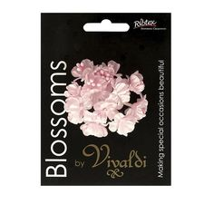 Vivaldi Blossoms 12 Head Flower with Pearl Stamens are suitable for apparel embellishment, craft projects, home decor, gift packaging, and special occasions. Gift Packaging, Flower Crafts, Blossoms, Spotlight, Embellishments, Special Occasion, Craft Projects, Pearls, Creative