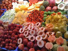 Fruit at the Taipei night market