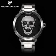 ==> [Free Shipping] Buy Best Fashion Skull Design Pirate Captain Quartz Watch Men Watches Brand Men Military Big Size Men Sport Casual Watch Waterproof Online with LOWEST Price | 32813198996 #BestMensWatches