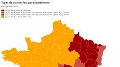 CARTE. Covid-19 : découvrez les nouveaux départements concernés par le couvre-feu à 18heures Haute Marne, Map, Crowns, Submissive, The Hours, Location Map, Maps