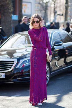 Nothing but Knit: These Resort Maxis Come Up Long on Style - Gallery - Style.com
