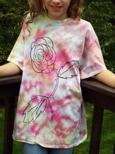709caefb12304 9 Best Tie dye roses images