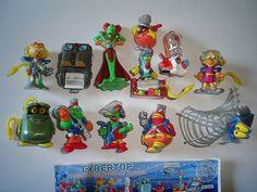 Kinder Surprise Set  Cybertops Fantasy by KinderSurpriseToys