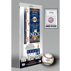 2010 NLCS Mini-Mega Ticket - San Francisco Giants
