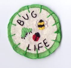 Bug Life Patch by Hanecdote on Etsy