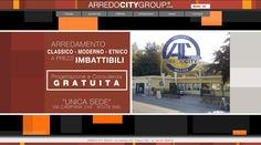 Website created for Arredocitygroup - Sale furniture wholesale in Naples