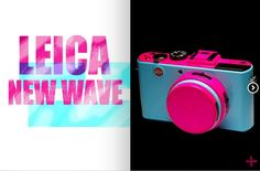 Leica new wave #leica #design #newwave #color #fluor