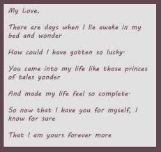 Show your love for him by writing love poems of him to let him know that your romance is real and it would last for life long. Share your feelings of love on Pinterest, or Facebook or Instagram without feeling shy. And if you really want to get success in writing love poems for him all you need to do is write from your heart and not from your mind.