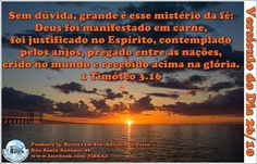 Versículo do Dia 26/10