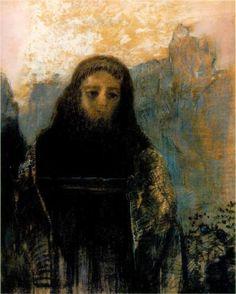 Symbolist painter Odilon Redon (French: 1840 – 1916) | Parsifal