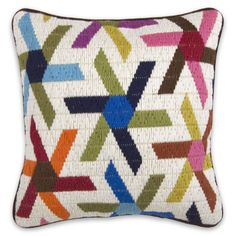 #dreampin  Asterisk Pillow from Jonathan Adler