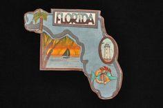 Florida State Tag by PurpleRidge on Etsy