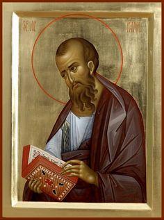 Saint Paul the Apostle Byzantine Icons, Byzantine Art, San Paul, Paul The Apostle, Orthodox Icons, Christianity, Catholic, Saints, Religion