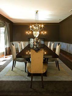 Transitional Decorating | Transitional | Dining Rooms | Vanessa DeLeon : Designers' Portfolio ...