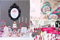 Mad Hatter Alice In Wonderland Birthday Party via Kara's Party Ideas- www.KarasPartyIdeas.com