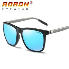 AORON Brand Logo Design Mens Polarized Sunglasses Driving Pilot UV400 Eyewear Mirror Sun Glasses Accessories For Men Women A387 #Affiliate
