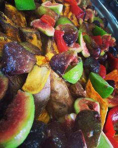 #stimmungsbild #süsskartoffel #feigen #limetten #paprika #veggie #vegan