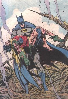 Yet another iconic Batman image... Jim Aparo was the artist on Batman when I began collecting it more than 20 years ago.