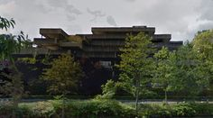 submitted by pcc-photo  Faculty of economics - #architecture #googlestreetview #googlemaps #googlestreet #belgium #gent #brutalism #modernism