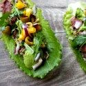 Beauty Food Recipes: Quinoa and Beans Lettuce Wraps
