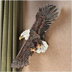 Design Toscano Strength of the Skies Eagle Wall Sculpture -- This is an Amazon Affiliate link. You can find more details by visiting the image link.