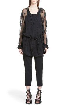 ANN DEMEULEMEESTER Lace Blouse. #anndemeulemeester #cloth #