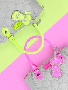 Hello Kitty neon dreams is love! Hello Kitty Handbags, Hello Kitty Purse, Hello Kitty Items, Wonderful Day, Hello Kitty Collection, Here Kitty Kitty, Best Christmas Gifts, Cute Bags, Neon Green