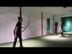 Water bottle flip with archery challenge second round