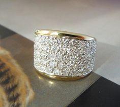Thick Diamond Wedding Bands for Women | Diamond Wedding Bands ...