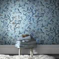 The perfect wallpaper for your on-land home. | 20 Gifts Every Wannabe Mermaid Needs To Ask For This Year