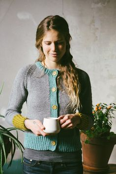 Louise Cardigan - Madder