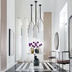 Ceiling placement for mor than one fixture  ARBORESCENCE - PENDANT