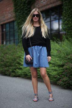 Summer style / Blogger / Zara / Topshop / FWSS / Chanel / Elen Kristvik / Fashion