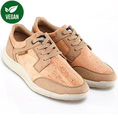 This cork sneakers by Montado make your days more confortable and stylish. The ultra-light EVA® sole makes it ultra-light so it will be perfect for those sightseeing weekends. Cork, Fashion Art, Arts And Crafts, Stylish, Contemporary Design, Sneakers, Fitness, Portugal, Leather