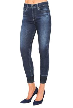 AG Jeans Official Store, The Farrah Skinny Crop - 2 Years Cusp, Women's the Farrah Skinny Crop, Ag Jeans, Cropped Jeans, Jeans Pants, Skinny Jeans, Stretch Denim, Official Store, Pants For Women, Legs, Womens Fashion