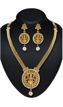Women's Gold Color Moti Work Artificial Traditional Wear Necklaces Set | FH532480450 Follow us @heenastyle  #Necklace #onlineshopping #necklaceset #forsale #gold #artificial #goldplated #designs #fashion #jewelry #fashionjewellry #accessories #womenfashion #pendentset #earing #jumkis #bangle #bracelets #mangalsutra #tikka #headpieces #handbags #cluethesbeg #ring #indianfashion #fashionista #anklets #bridelset #weddingset #dimondset #brass #metal #heenastylenecless #heenastyle