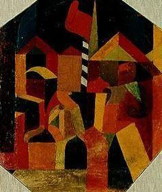 Paul Klee: architektur_roten_fahne