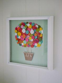 Διακόσμηση με αεροστατα_1_αερόστατο με κουμπιά