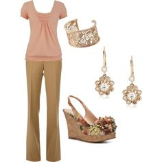 Rose Gold, created by ugafaninky on Polyvore