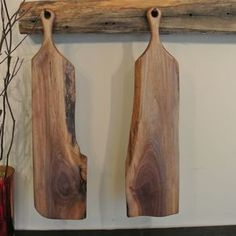 The Sophia - Baguette/Cutting/Serving Board With Long Handle by Matthew Shober