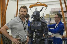 We talk to 'X-Men' and 'Wolverine' star Hugh Jackman about wearing khaki shorts and fighting with robots in his new film 'Chappie'. Hugh Jackman, Tv Series Online, Movies Online, Neill Blomkamp, Backyard Playset, Dev Patel, What Men Want, Man Movies, New Clip