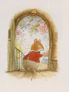 Foxwood Tales by Cynthia and Brian Paterson ・ Foxwood Tales Books Illustrations Beatrix Potter Illustrations, Painting, Cute Art, Illustration Art, Art, Childrens Art, Animal Illustration, Fairy Tales, Vintage Illustration