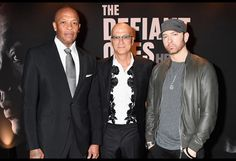 Eminem's Beard Makes Its Debut at 'The Defiant Ones' Premiere