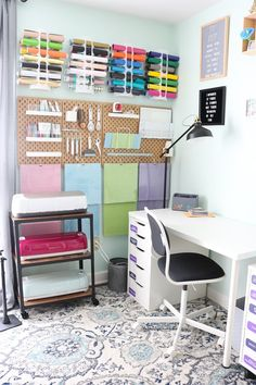 Step inside this Cricut craft room and take a tour!